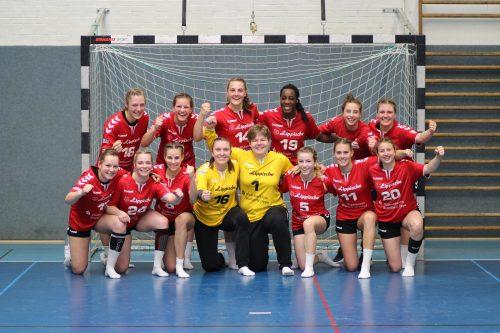 Unter den vier besten deutschen Teams - die A-Mädels der HSG
