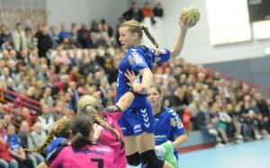 Gisa Klaunig spielte gegen den TuS Metzingen in der ersten Halbzeit stark auf, konnte die knappe Niederlage am Ende aber auch nicht verhindern. Foto: brink-medien