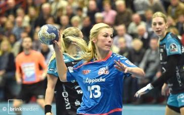 Denise Großheim trifft morgen mit der HSG auf Neckarsulm. © brink-medien