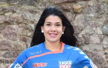 Samara da Silva Vieira läuft künftig im HSG-Trikot auf. © brink-medien