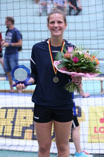 Beste Torschützin des Final Four: Munia Smits