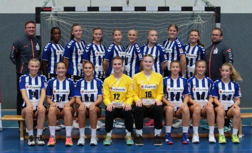 Sie wollen ins Final Four - die weibliche A-Jugend der HSG Blomberg-Lippe